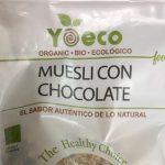 Muesli con chocolate