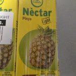 Néctar piña light