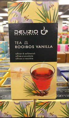 NON SOLO CAFFE TEA ROOIBOS VANILLA raffinée et envoûtante