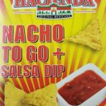 Nacho to go + salsa dip