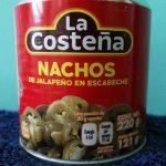 Nachos La Costeña De Jalapeño Lata