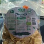 Nachos de maiz con queso