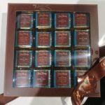 Napolitains - Carrés de chocolat noir et lait