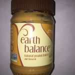 Natural peanut butter and flaxseed