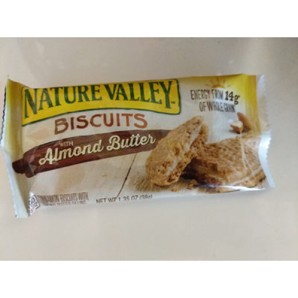 Nature Valley? Biscuits With Almond Butter 1.35 Oz. Pack