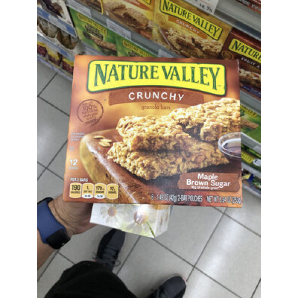 Nature Valley Crunchy Maple Brown Sugar Granola Bars - 6 CT