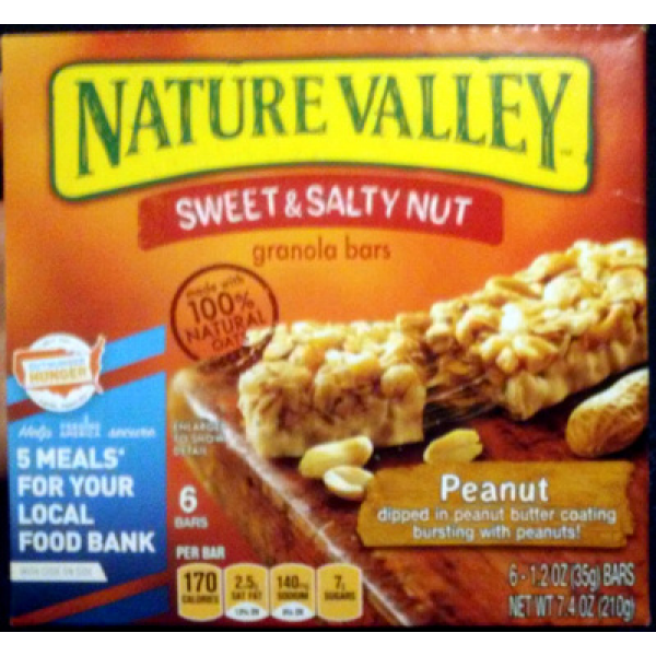 Nature Valley Peanut Sweet and Salty granola bars