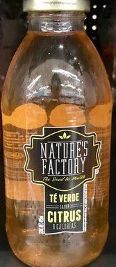 Nature's Factory Té verde sabor Citrus