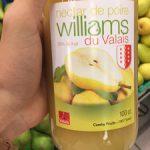 Nectar de Poire Williams du Valais