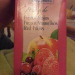 Nectar de frutos rojos