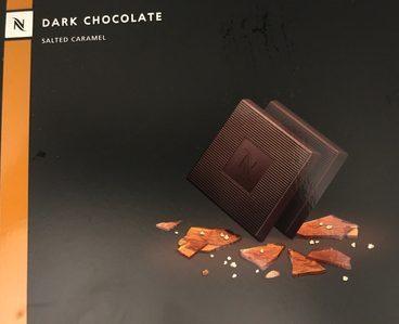Nespresso dark chocolate salted caramel