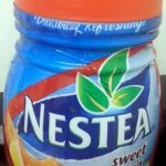 Nestea sweet iced tea Lemon