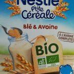 Nestlé P'tite Céréales Blé et Avoine