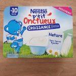 Nestlé p'tit onctueux