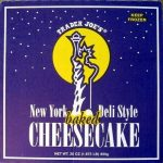 New York Deli Style baked Cheesecake