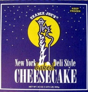New York Deli Style baked Cheesecake