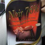 Noir 76% Aux Eclats De Fèves De Cacao