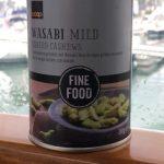 Noix de cajou grillées au wasabi
