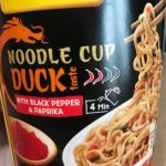 Noodle cup duck