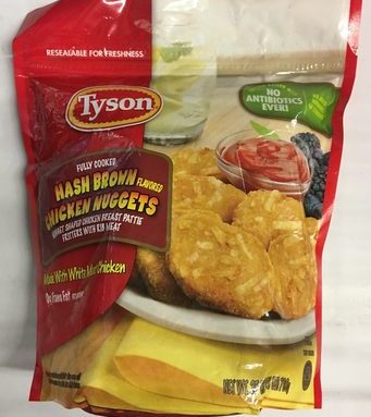 Nuggets de Pechuga de Pollo Tyson