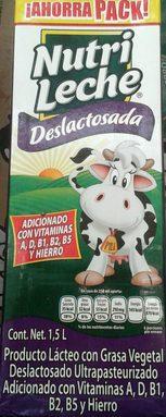 Nutri leche deslactosada