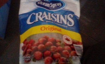 Ocean Spray Craisins Sweetened Dried Cranberries 1.36KG