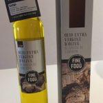 Olio extra vergine d'oliva al gusto di tartufo