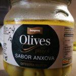 Olivas con piñon sabor anchoa