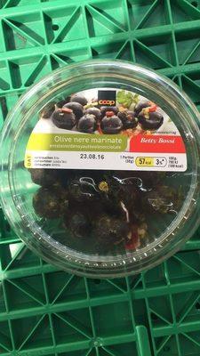 Olive nere marinate