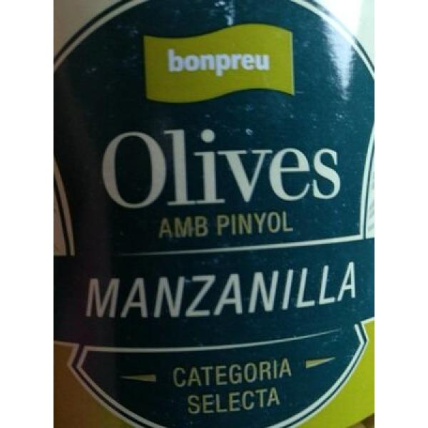 Olives manzanilla