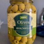 Olives sense pinyol manzanilla