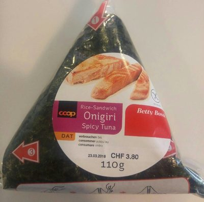 Onigiri spicy tuna