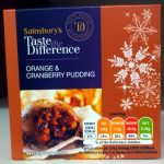 Orange & Cranberry Pudding