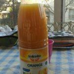 Orange pure pressée