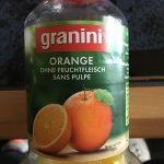 Orange sans pulpe