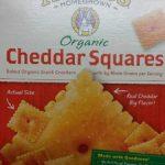 Organic Cheddar Squares