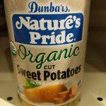 Organic Cut Sweet Potatoes