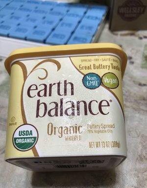 Organic Whipper Buttery Spread 78% Vegetable Oils