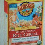 Organic Whole Grain Rice Cereal