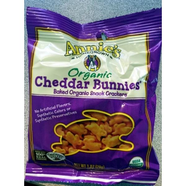 Organic cheddar bunnies