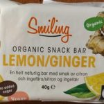 Organic snack bar       Lemon/Ginger