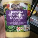 Oriental vegetable noodle