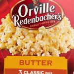 OrvilGourmet Popping Corn Pop Up Bowl Bags Butter - 3 CT