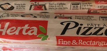 Pâte à Pizza Fine & Rectangulaire