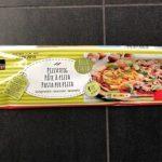 Pâte à pizza abaissée