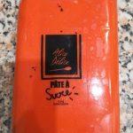 Pâte à sucre orange