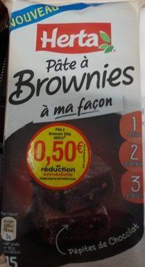 Pâte a brownies