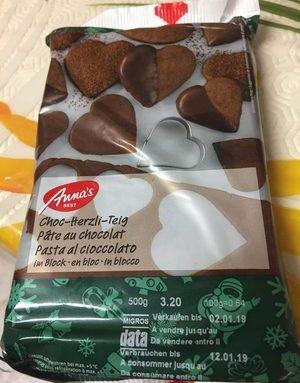 Pâte aux chocolat