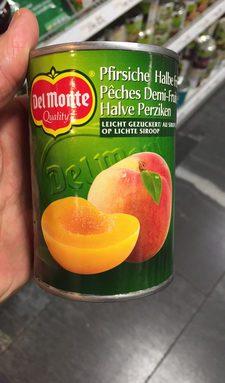 Pêches Demi-Fruits
