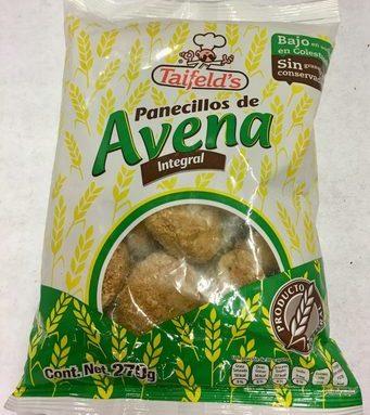 PANECILLOS DE AVENA INTEGRAL TAIFELD'S